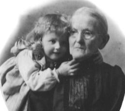 Mabel Winney and Grandma Newhouse (2)
