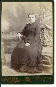 1890s Agnes A Geier Wulfestieg in Santa Ana CA