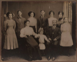 Elizabeth Wellman and Leonard James Winney family